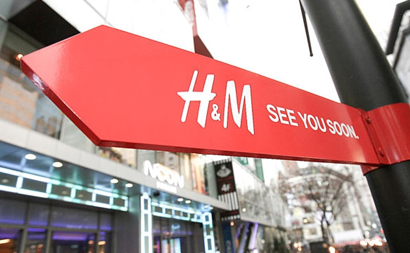 H&M makes rights pledge to 1.6 million textile workers