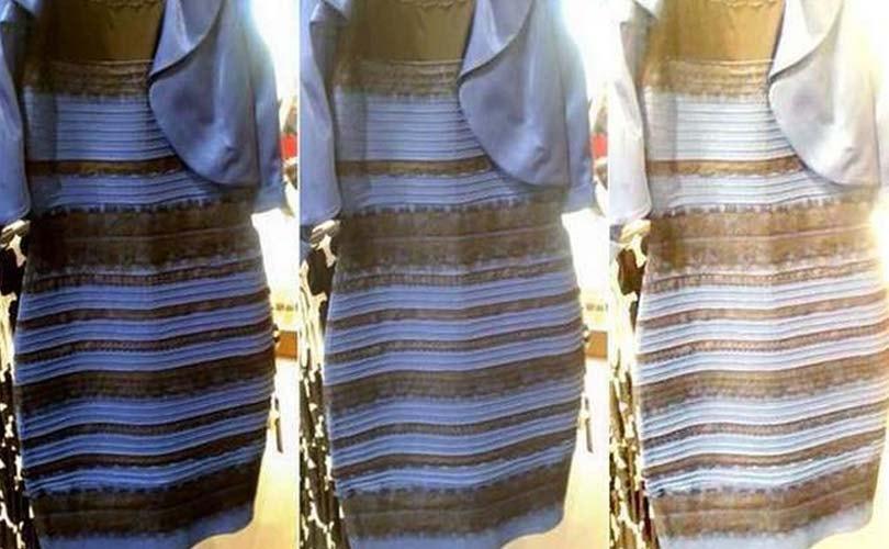 Jurk blauw zwart telegraaf