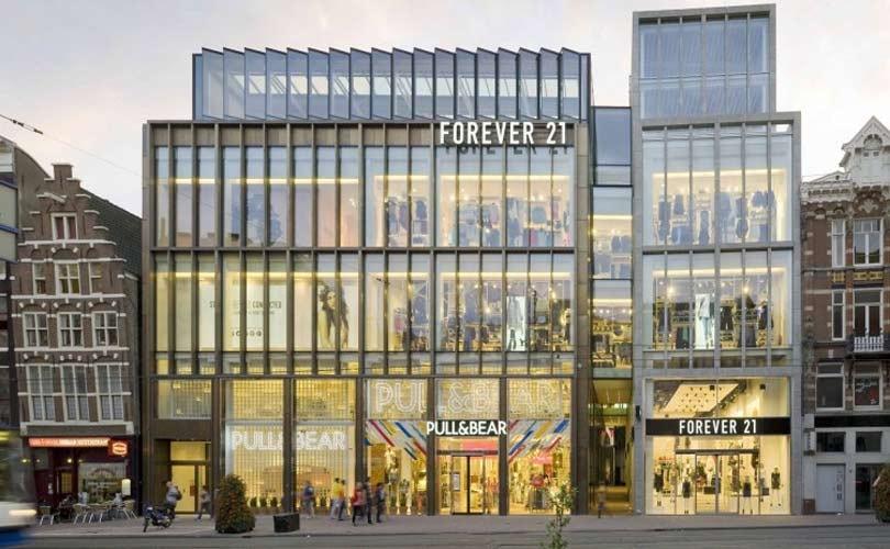 Vastned koopt Amsterdamse winkel Forever 21