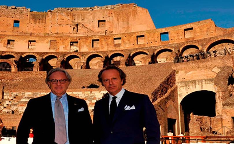 Della Valle (Tod's) riapre il Colosseo restaurato