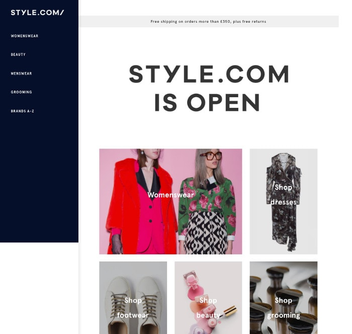 Condé Nast's Style.com officially launches