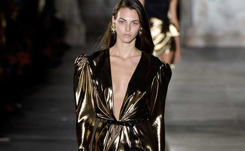 Moda en Paris: Jovenes creadores y un Saint Laurent sexy version Vaccarello