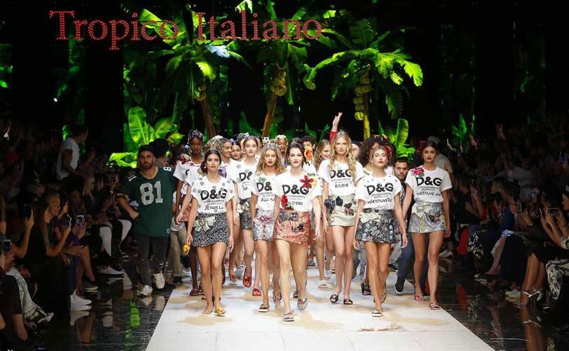 Dolce & Gabbana celebran en Milan la exuberancia mediterranea