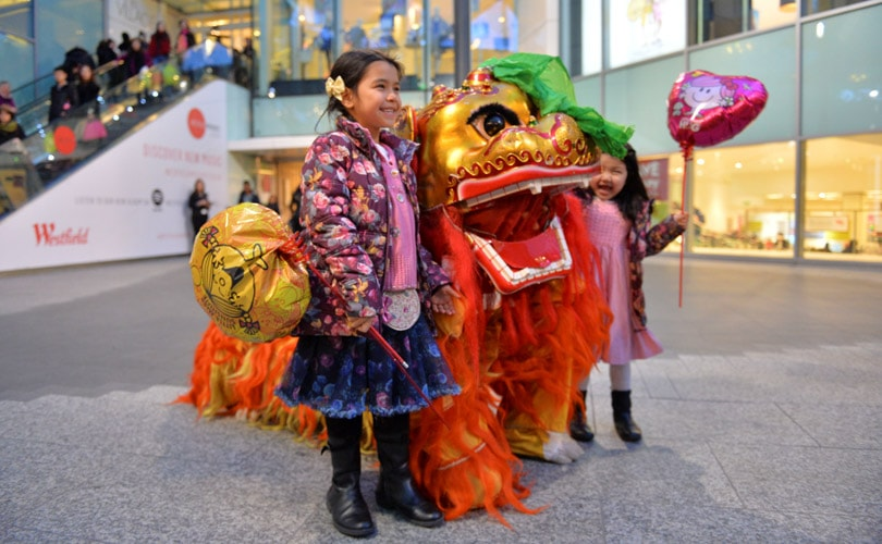 Westfield prepares for record visitors for Chinese New Year