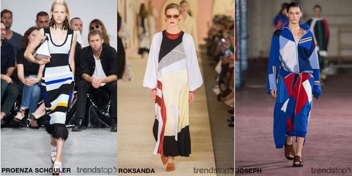 Принты SS17 - подиумные коллекции женской одежды