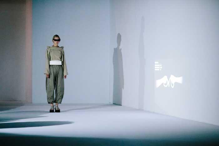 Hussein Chalayan brings wearable tech to Paris Fashion Week