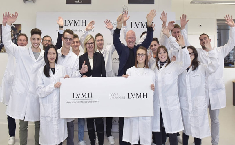 LVMH launches its own watchmaking school