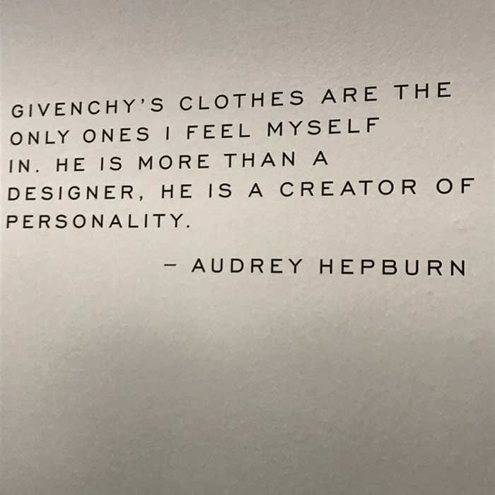 New Givenchy exhibition honours Audrey Hepburn