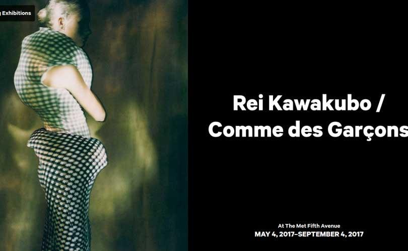 Japanese designer Rei Kawakubo to be the next theme for Met Gala