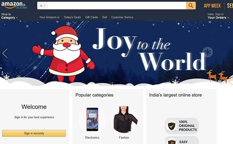 Amazon investiert weitere 283 Millionen Euro in Indien