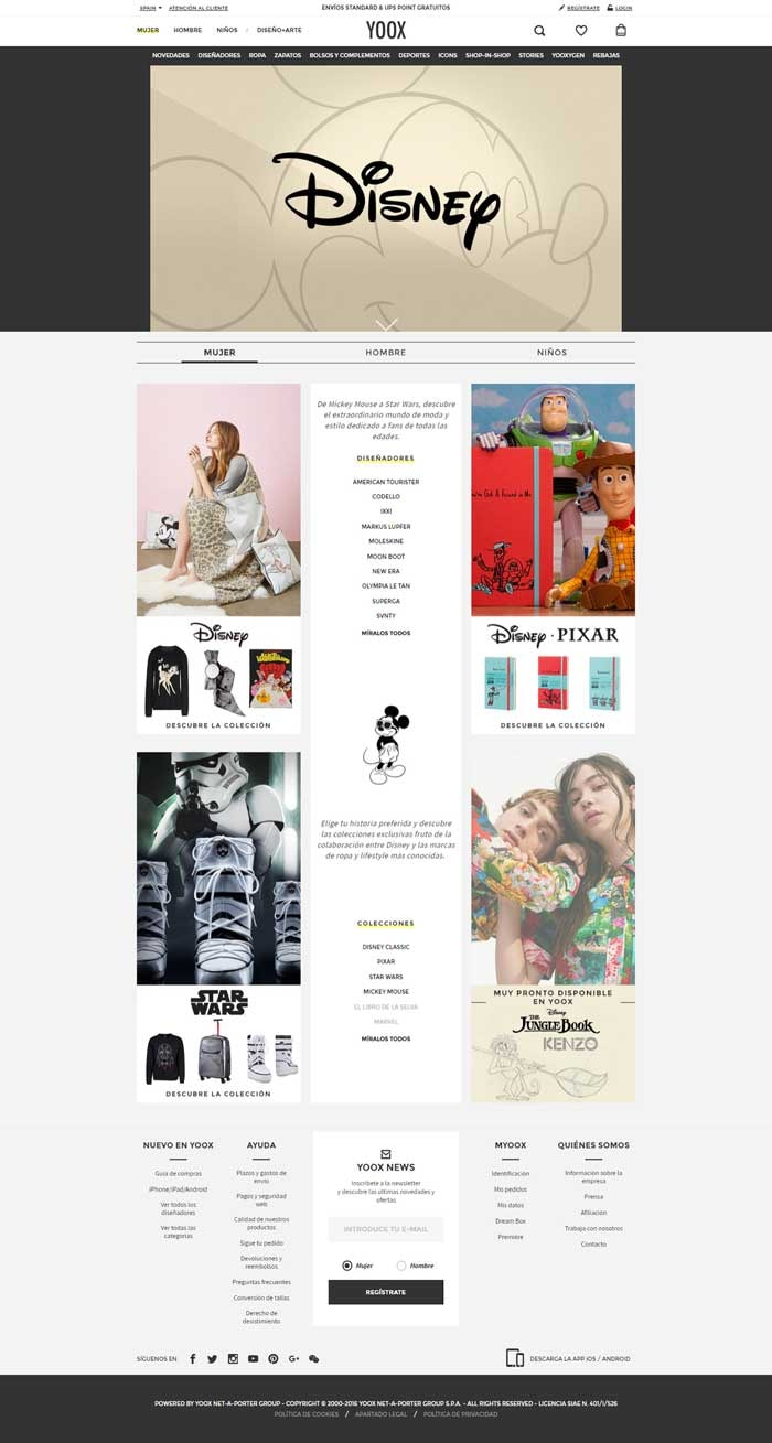 In Pictures: Yoox x Disney launch online fashion & lifestyle store
