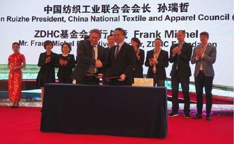 China Textile Information Center schließt sich ZDHC an