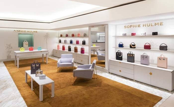 Sophie Hulme opens Harrods shop-in-shop