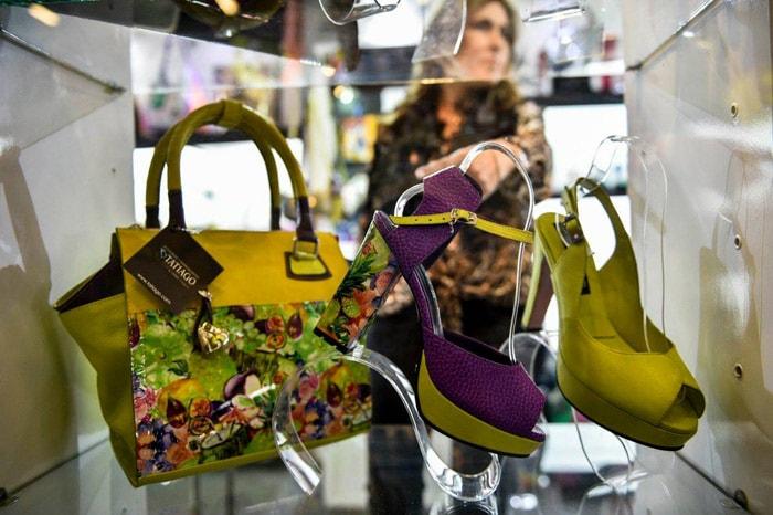 Agatha Ruiz de la Prada participó en Bogotá del International Footwear and Leather Show