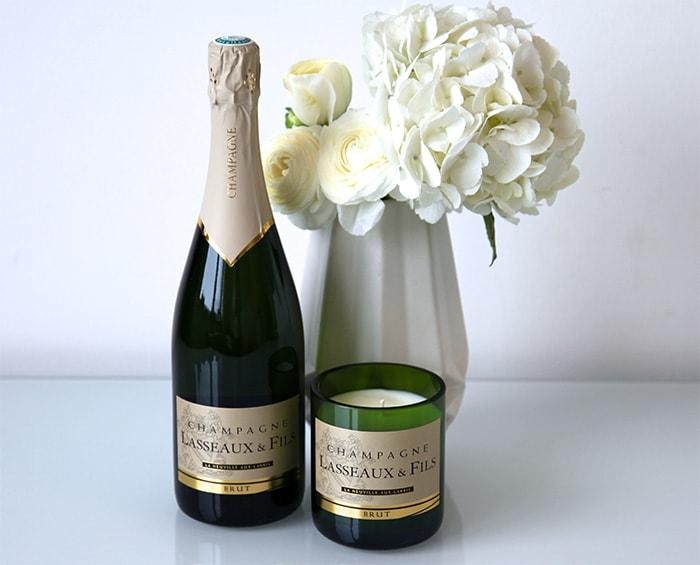 Design Bubbles: sommelier inspiration meets candle business.