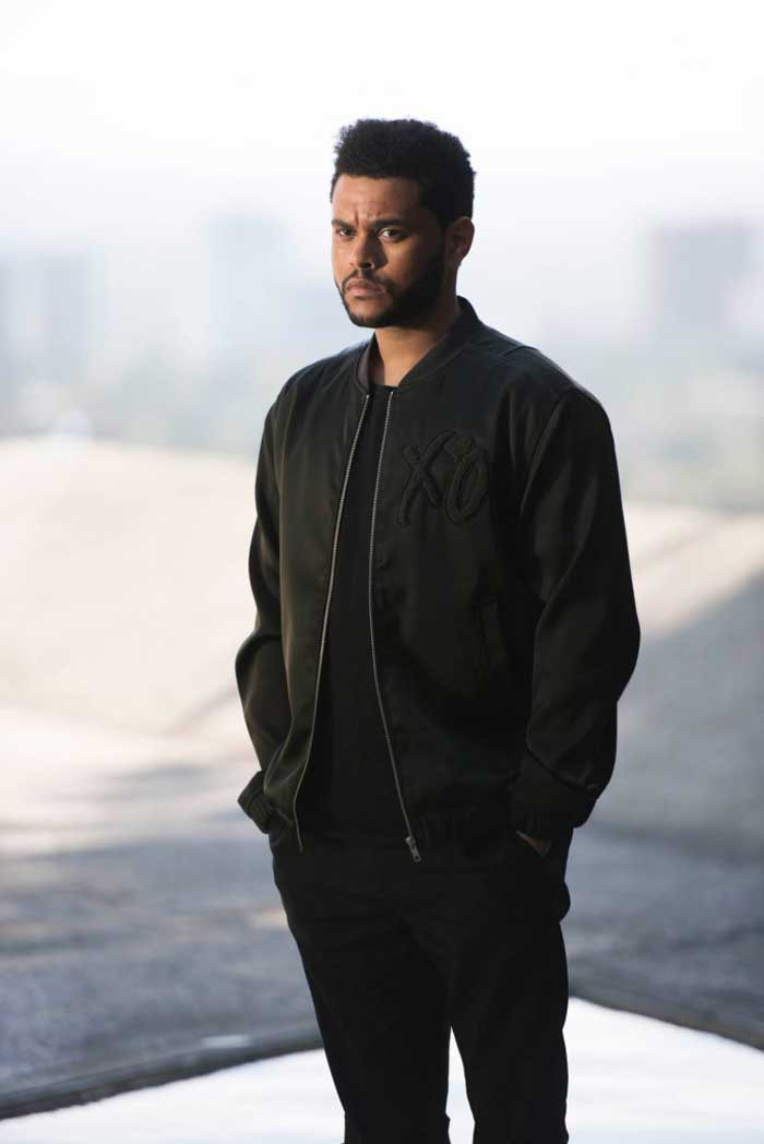 Premiers visuels de la collection de The Weeknd pour H&M