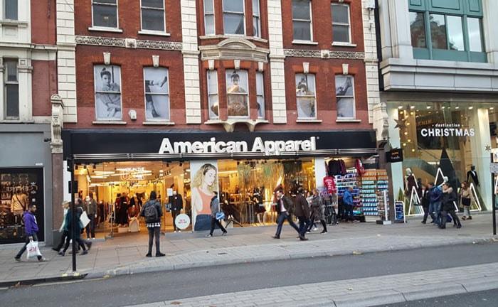 Het einde lijkt nabij voor American Apparel