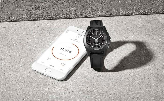 Armani Exchange launches connected hybrid smartwatch