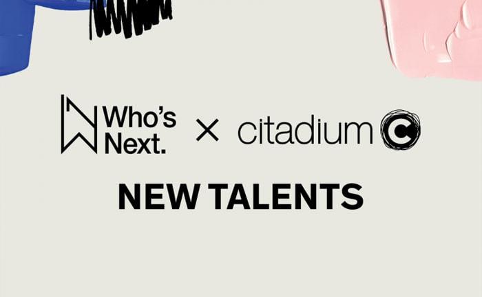 Les jeunes talents selectionnes par Who's Next