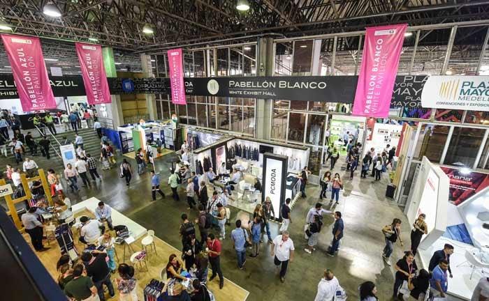 Colombiatex cerró con expectativas de negocios por 326 millones de dólares