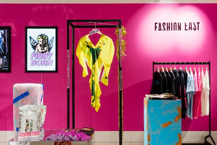 Fashion East opens pop-up at Selfridges