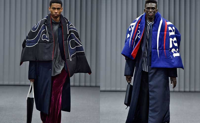 Fashion Week homme: on s'emmitoufle