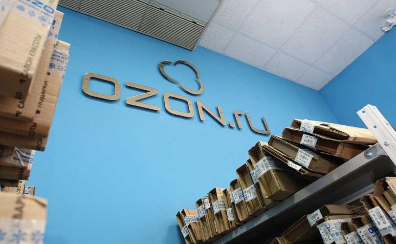 Знак Ozon.ru стал общеизвестным