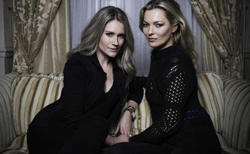 Kate Moss lancia una collezione con il marchio Nikkie