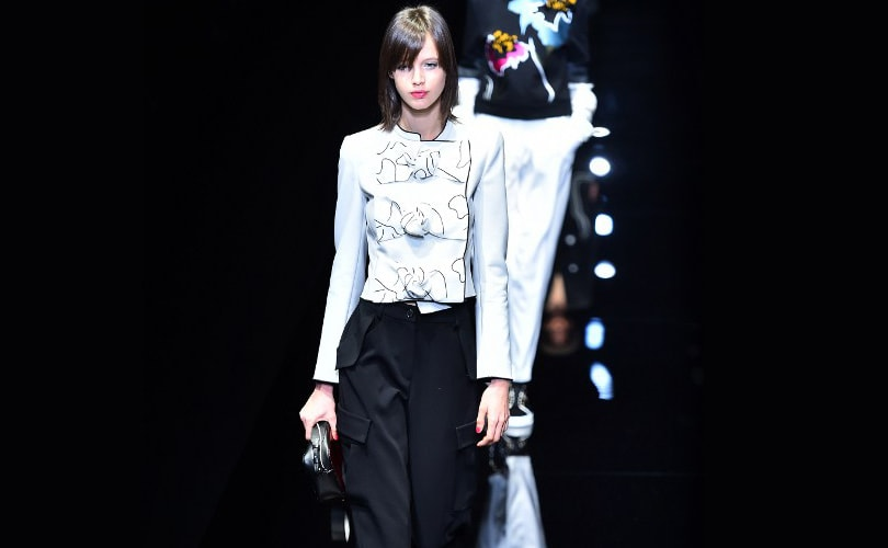 Emporio Armani puts comfort first with sporty show