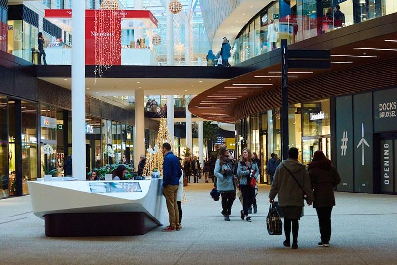 Docks Bruxsel trekt 2 miljoen bezoekers in eerste vier maanden