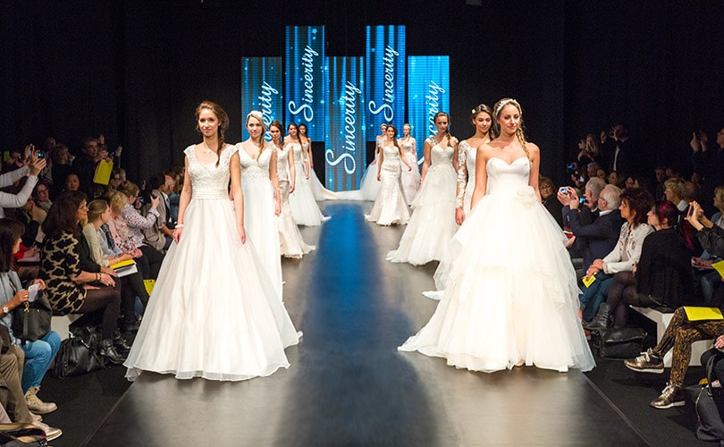 European Bridal Week … bigger than ever, and better by far