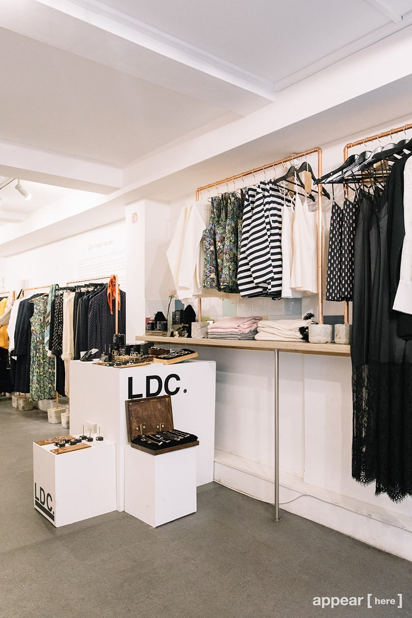 The London Designers Collective brings 'Guerilla' retail to LFW