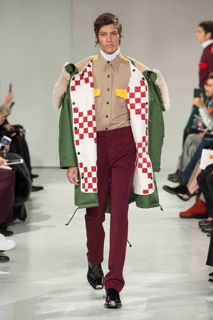 Raf Simons debutta per Calvin Klein