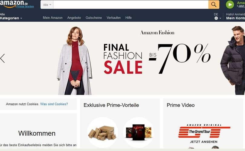 Amazon will 15.000 Jobs in Europa schaffen