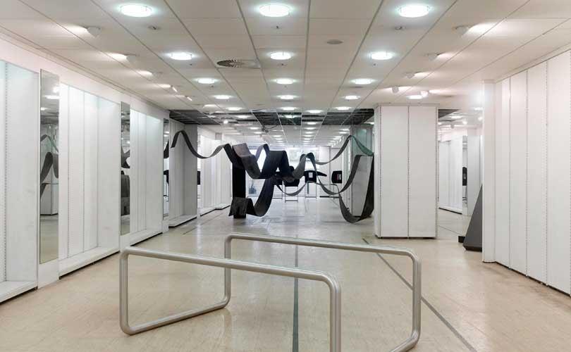 Ausstellung Strauss ist raus beschäftigt sich mit Veränderungen im Einzelhandel
