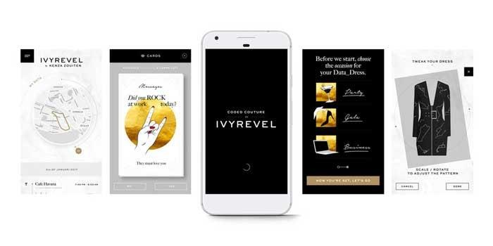 Google y Ivyrevel crean el 'Data Dress'