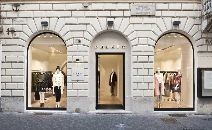 Secondo store a Roma per Sandro