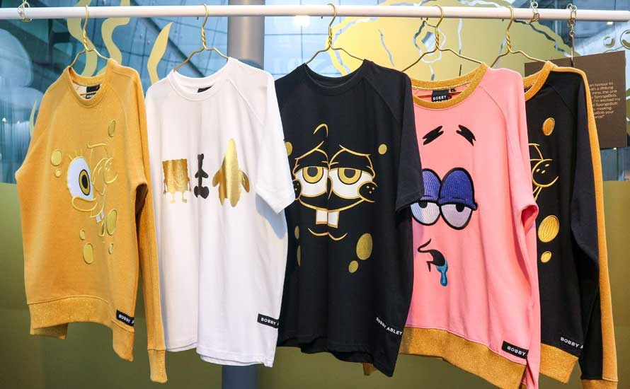 SpongeBob SquarePants gets a fashion makeover