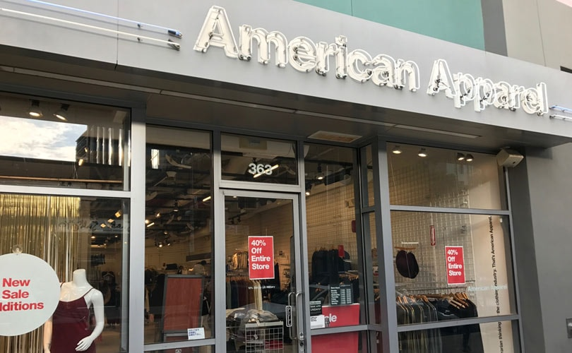 American Apparel has officially been sold