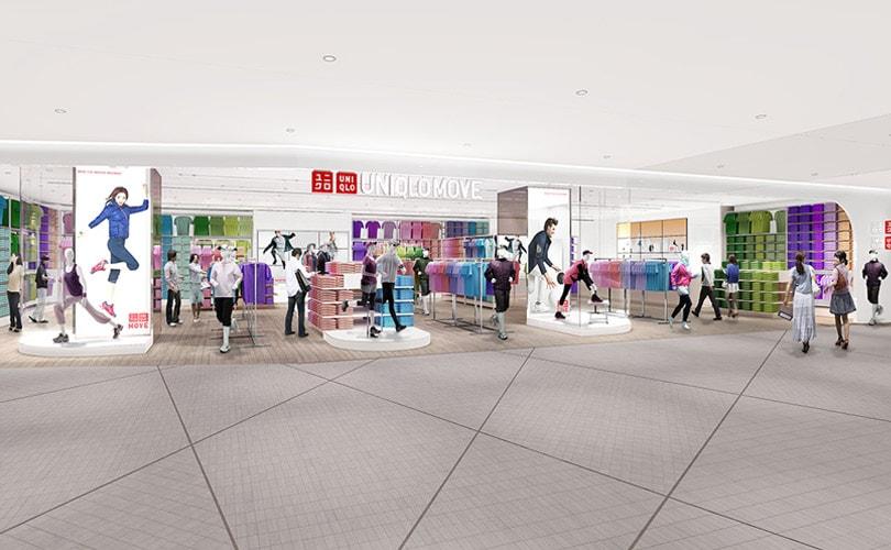 Uniqlo lanza nueva tienda concepto llamada: Uniqlo Move