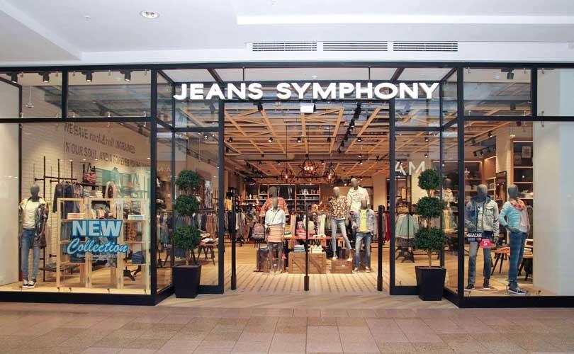 В ТЦ Мега открылся первый в РФ магазин Jeans Symphony в новой концепции 75d5a394c72