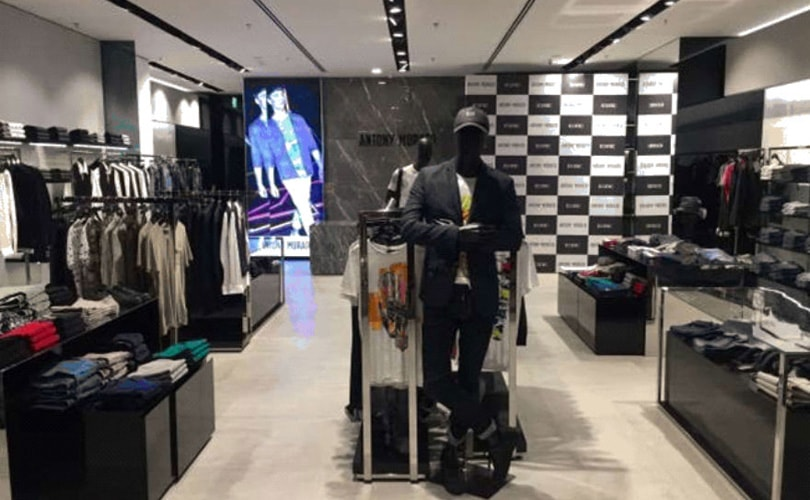 7c7aa6ea25a Italian fashion brand Antony Morato is continuing its international  expansion by opening its first flagship store in India