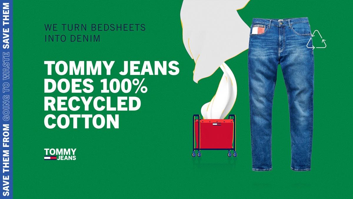 """Tommy lanza un nueva línea denim """"100 por cien reciclado"""""""